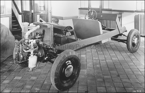 One of several rear-engined prototypes built for Henry Ford