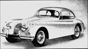 The Jaguar XK 150 Fixed Head Coupe (Hardtop)