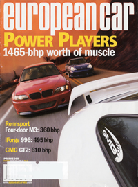 European Car March 2005 front cover