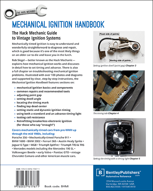 Mechanical Ignition Handbook: The Hack Mechanic Guide to Vintage Ignition Systems by Rob Siegel