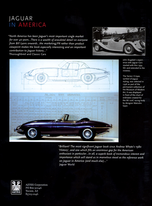 Jaguar In America back cover