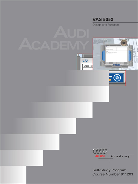 Audi VAS 5052 Design and Function Technical Service Training Self-Study Program Front Cover