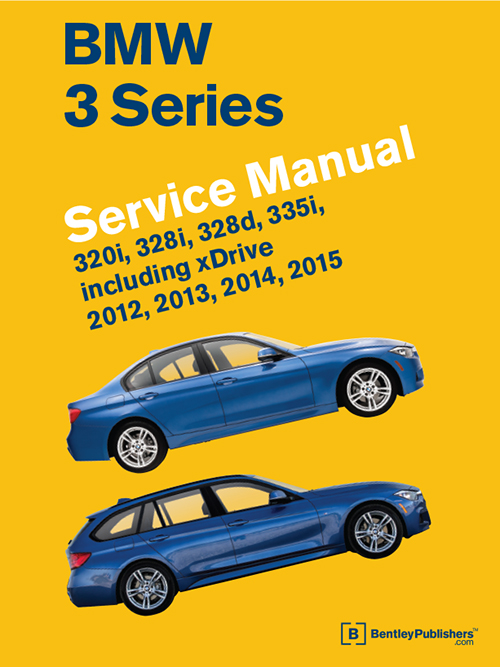 BMW 3 Series (F30, F31, F34) Service Manual: 2012-2015 - front cover