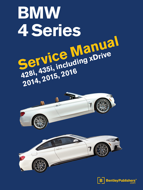 BMW 4 Series (F32, F33, F36) Service Manual: 2014-2016 - front cover