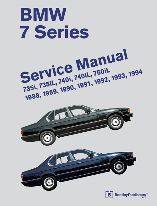 BMW 7 Series (E32) Service Manual: 1988-1994 front cover