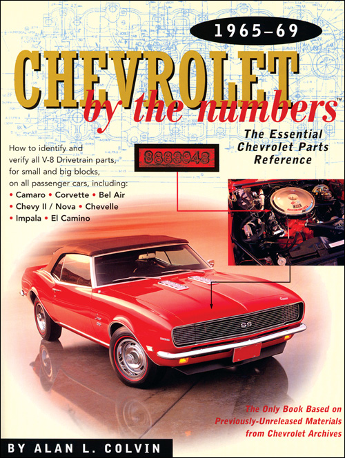 Chevrolet by the Numbers 1965-69 front cover