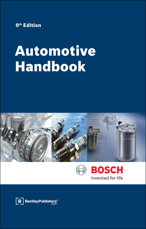 Bosch Automotive Handbook - 9th. Ed. - front cover