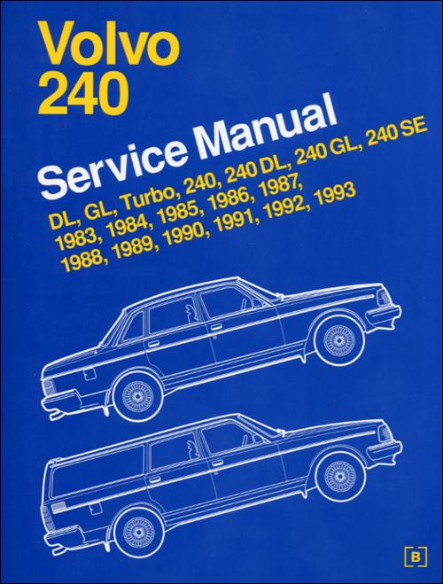 front cover volvo repair manual volvo 240 1983 1993 bentley publishers repair manuals Volvo 240 Repair Manual PDF 1992 volvo 240 manual transmission