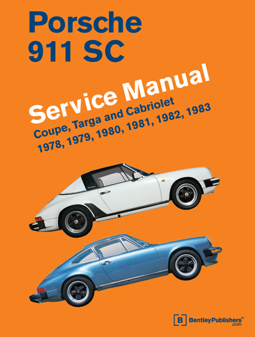 Porsche 911 SC Repair Manual: 1978-1983 - front cover
