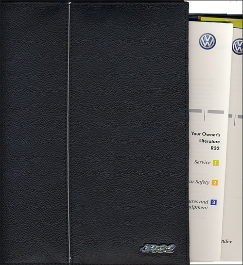R32 Owner's Manual: 2004 cover