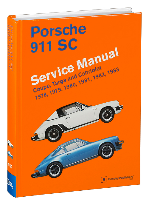 Porsche 911 SC Repair Manual: 1978-1983 - photograph